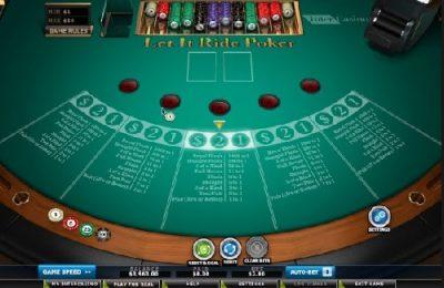 Покер Лет ит райд